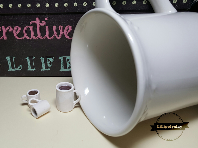 Polymer Clay Coffee Cup
